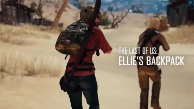 PUBG - Тизер облика Натана Дрейка и рюкзака Элли из The Last of Us