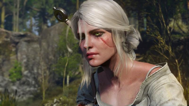 Цирилла (Цири). Скриншот из компьютерной игры «Ведьмак»