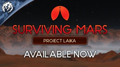 Вышло дополнение Project Laika для Surviving Mars