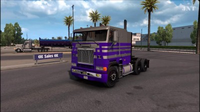"ATS ""Обзор Freightliner FLB Edited by Harven v2.0"""
