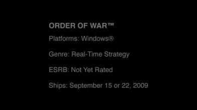 "Order of War ""E3: Trailer"""