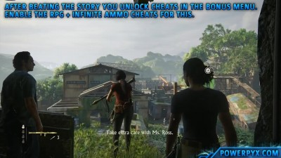 Uncharted The Lost Legacy - Получение трофея Right Under Your Nose. (Chapter 8)