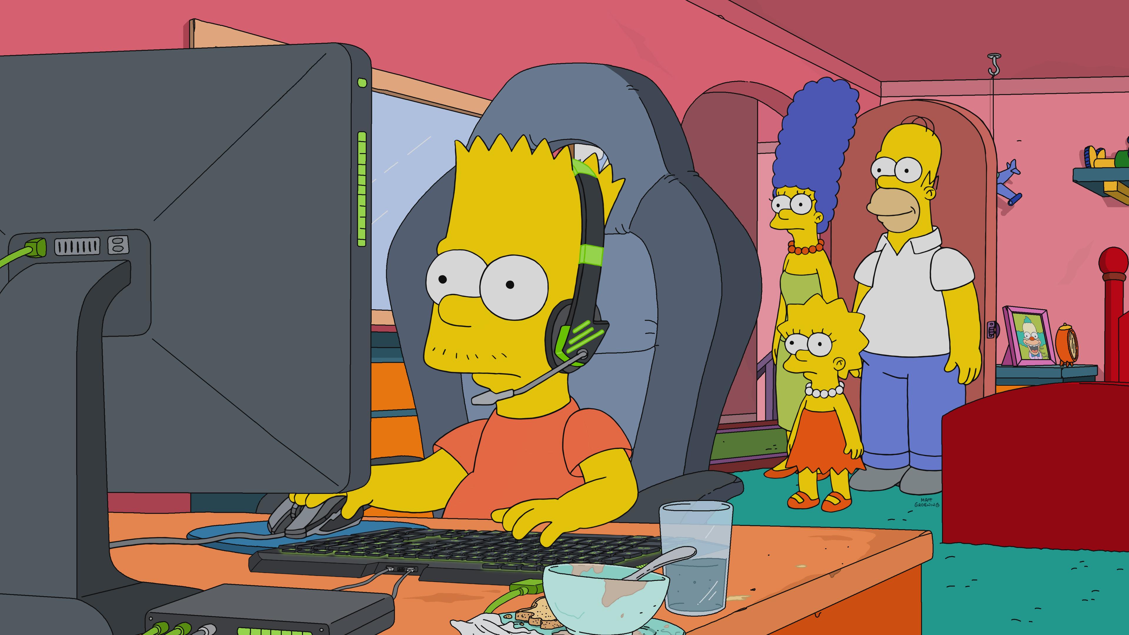 """""""Симпсоны"""" посвятят эпизод киберспорту и отправят Барта в Корею"""