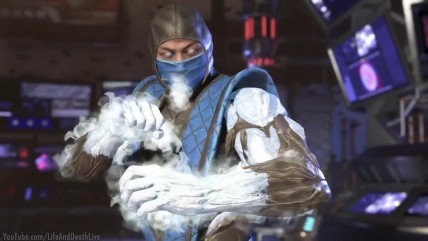 Injustice 0 - Sub-Zero Vs Sub-Zero All Mirror Intro Dialogue-All Clash Quotes, Super Move, Ending