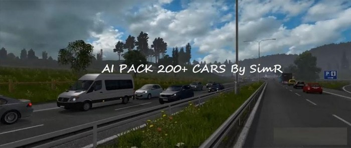 AI TRAFFIC CAR 200 + BY SIMR V2.0
