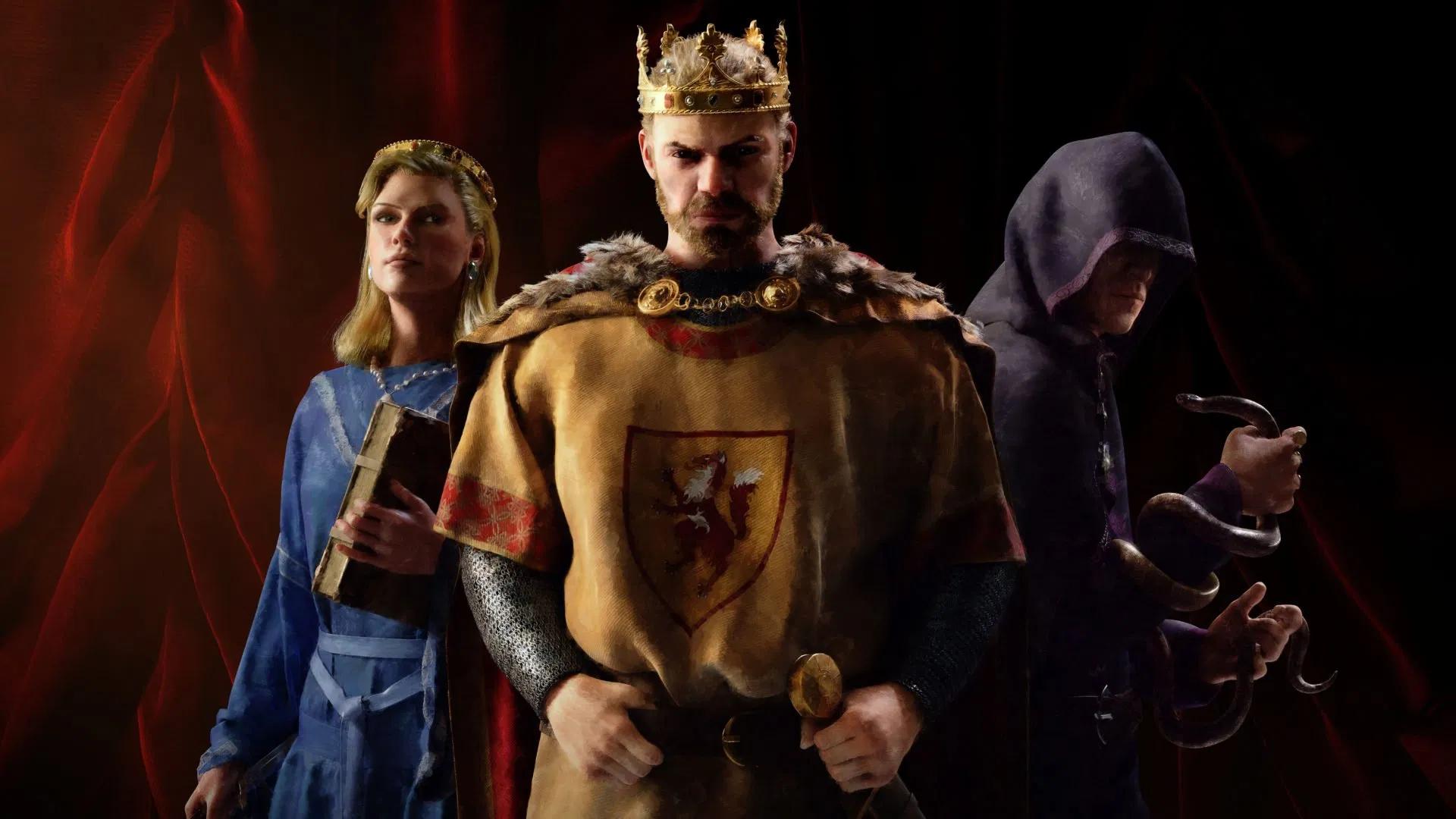 Трейлер и видео Crusader Kings 3, посвященные войне, интригам и убийствам