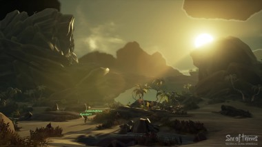 Новый трейлер Sea of Thieves посвященный сражением со скелетами, островам и следующему этапу тестирования