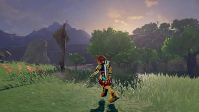 Геймплей Legend of Zelda: Breath of the Wild за Copу из Kingdom Hearts