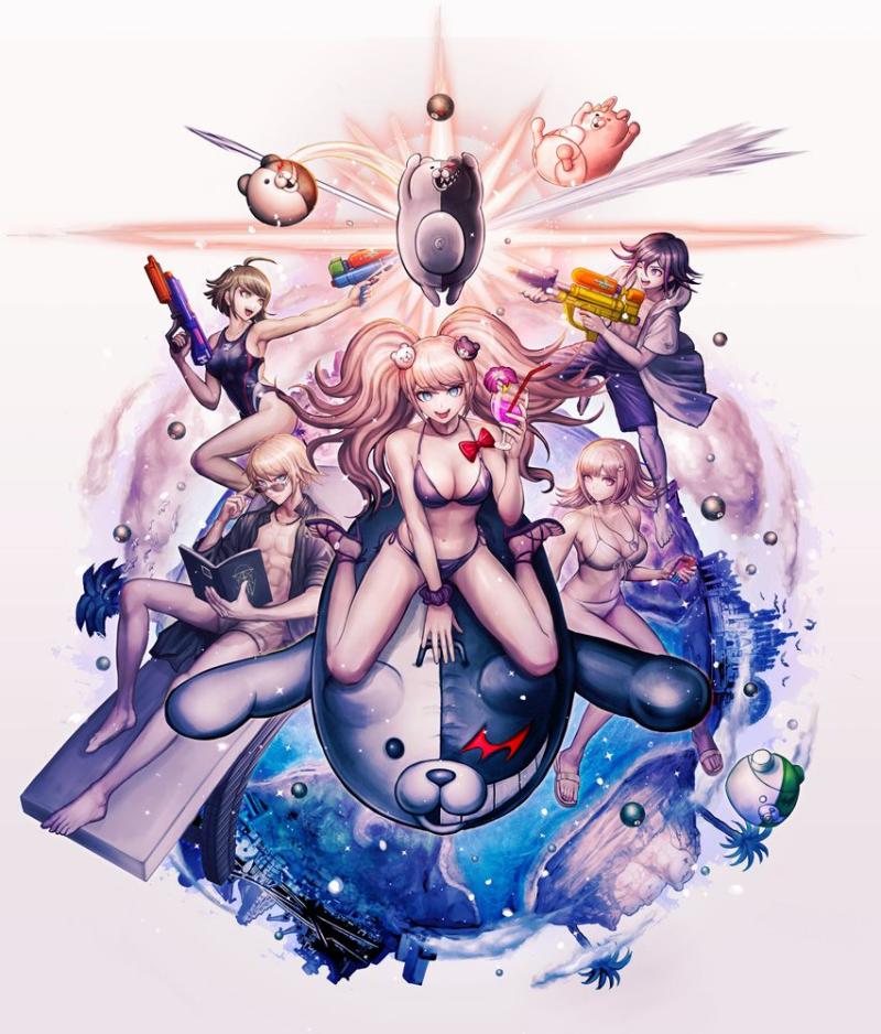 Новый трейлер Danganronpa Decadence и ключевой арт Руи Комацудзаки