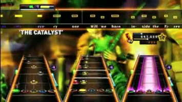 "Guitar Hero: Warriors of Rock ""Linkin Park Track Pack Trailer"""