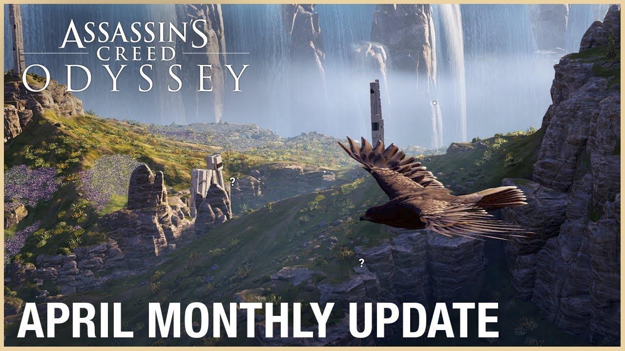 Апрельский контент Assassin's Creed: Odyssey