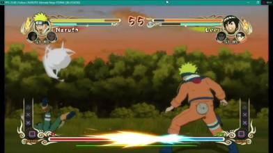 Naruto Ultimate Ninja Storm на эмуляторе Rpcs3
