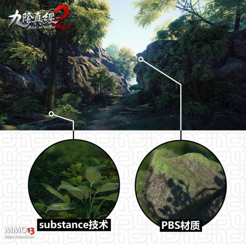 Первые скриншоты и информация о растительном мире Age of Wushu 2 15608