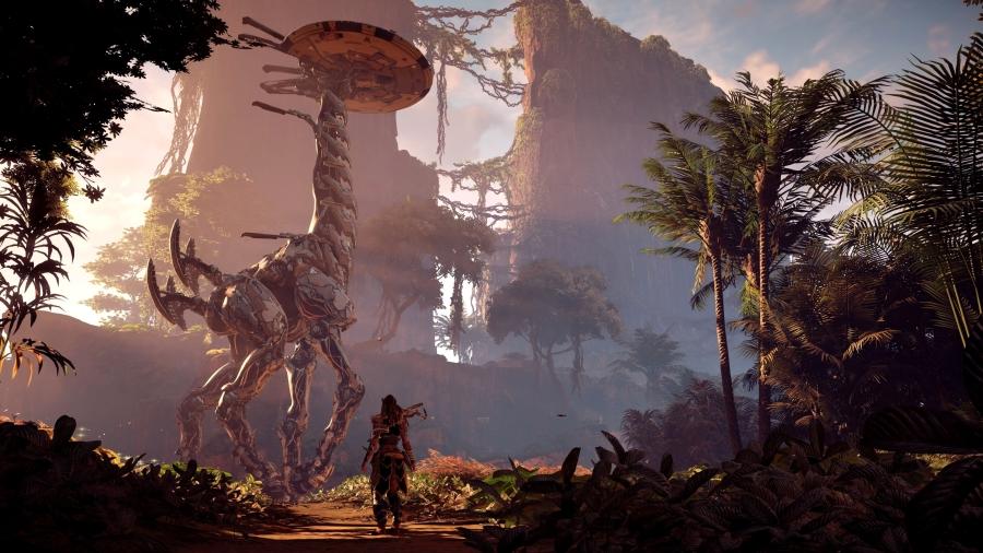 Zero Dawn наPS4 Pro— Показ геймплея Horizon