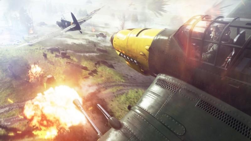Управлять самолётами в Battlefield V кажется, будет проще, чем раньше.