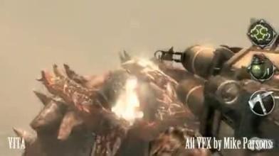 Резюме Майка Парсона с кадрами из StarCraft Ghost
