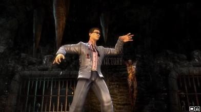 Mortal Kombat - Джонни Кейдж делает начальные и победные стойки от других персонажей