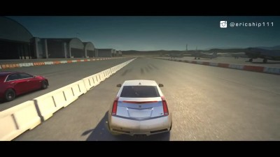 "Forza 6 ""2016 Cadillac CTS-V Sedan vs Nissan GT-R vs Corvette Z06 vs 2011 CTS-V Coupe - Drag Race"""
