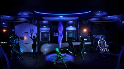 Elite: Dangerous - Deep Space - Alien Party