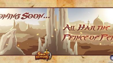 Принц Персии-WW появился в Soul Hunters