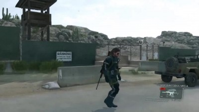 "Metal Gear Solid 5: Ground Zeroes ""Снейк и С-4"""