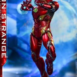 Hot Toys представила необычную фигурку Доктора Стрэнджа в костюме Железного человека
