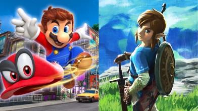 The Legend of Zelda: Breath of the Wild и Super Mario Odyssey получили VR обновления