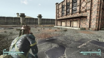 Snake (Metal Gear Solid) в Fallout: New Vegas