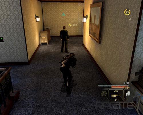 Охранник на третьем этаже