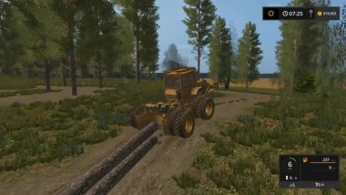 Farming Simulator 17 - Forestry Tractor IMT 5131