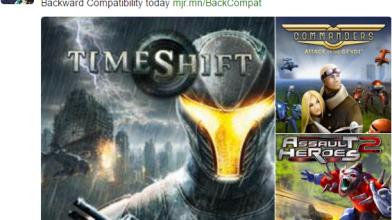 Три игры доступны для Xbox One по программе обратной совместимости