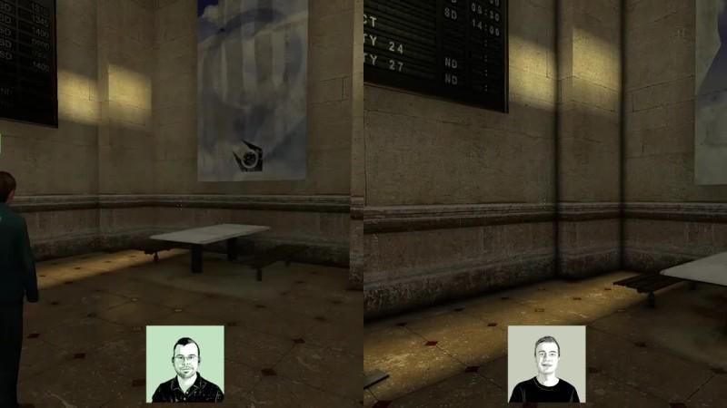 Час геймплея Half-Life 2 с трассировкой лучей