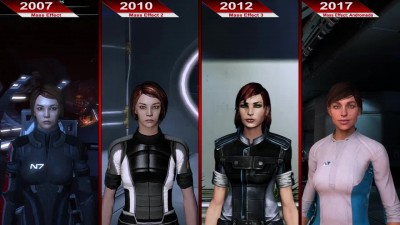 Исттория Графики в Mass Effect (2007 - 2017) | PC | ULTRA
