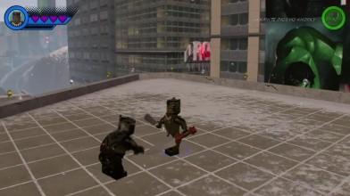 Чёрная пантера в LEGO Marvel Super Heroes 2! (DLC)