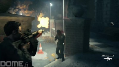 "Quantum Break ""Геймплей ""Ambush in the Car park"":"""