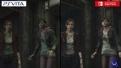 Resident Evil Revelations 2 | Switch vs Playstation Vita | Сравнение графики