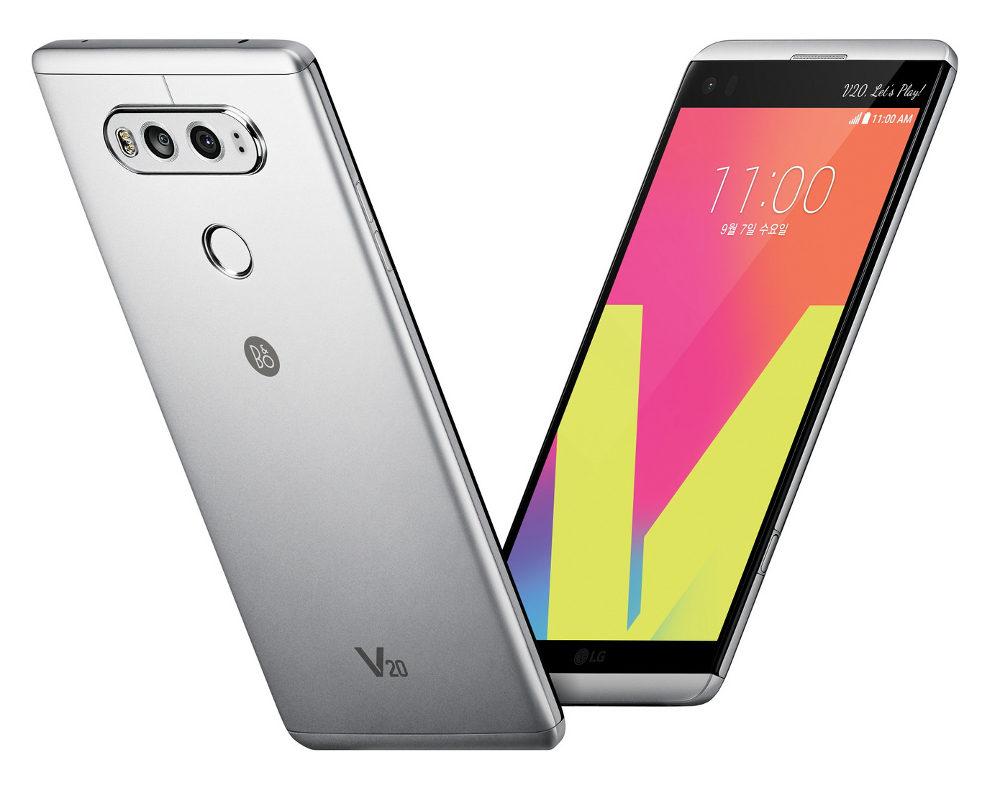 LGV20 на андроид 7.0 Nougat представлен официально