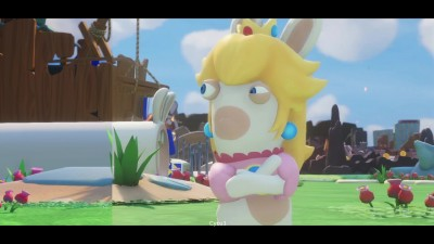 Сравнение графики - Mario + Rabbids Kingdom Battle E3 2017 Demo vs Retail Nintendo Switch (Cycu1)