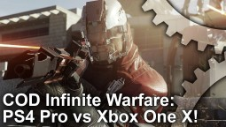 Call of Duty: Infite Warfare - Xbox One X против PS4 Pro