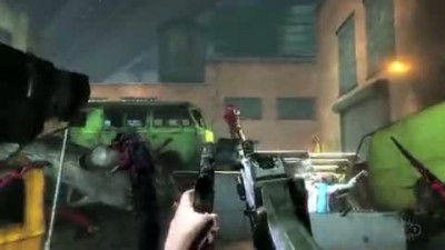 "The Darkness 2 ""Quad-Wielding Trailer"""