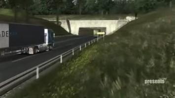 """German Truck Simulator """"Первый официальный трейлер"""""""