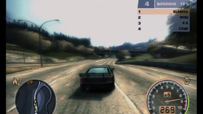 "Need for Speed: Most Wanted (2005) ""Нарезка из игры"""