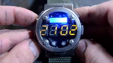 Часы из Metro 2033 своими руками