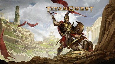 Час геймплея Titan Quest. Для NS