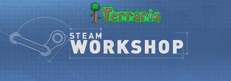 Terraria будет поддерживать Мастерскую Steam