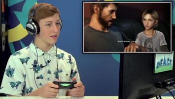 """The Last of Us. """"Реакция молодых людей на начало игры"""""""