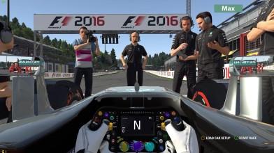 F1 2016 - сравнение разных настроек графиик на ПК