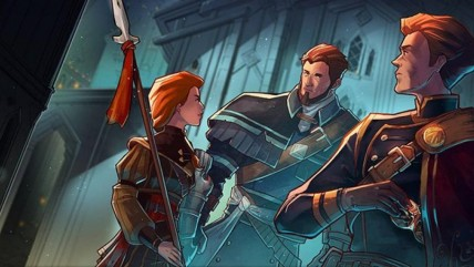 RPG Masquerada Songs and Shadows выйдет на PS 4