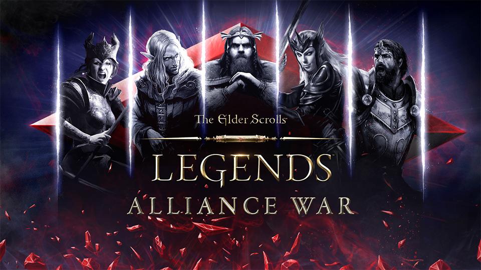 """Анонс The Elder Scrolls: Legends - """"Война Альянсов""""!"""