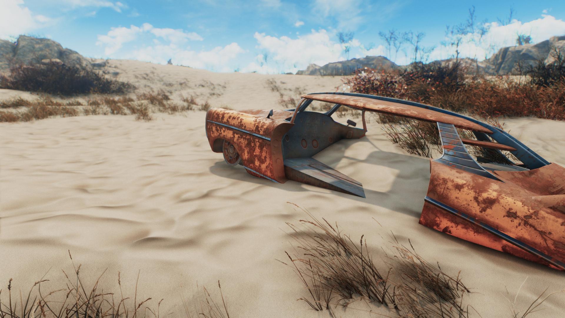 Этот 4K HD текстурный пак для Fallout 4 весом 4.8GB полностью меняет игровые ландшафты